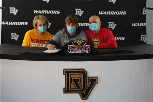 Nick Kaylani signs with King's College