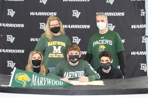 John Russo signs with Marywood University