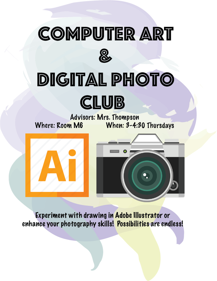 Computer Art and Digital Photo Club