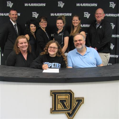 Eileen Nikles signs with John Hopkins University
