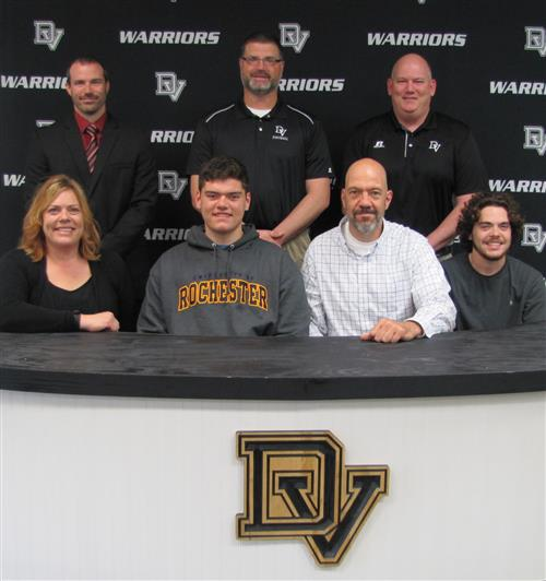 Jacob Roccabruna signs with the University of Rochester