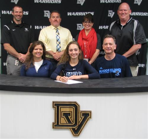Kara Gearhart signs with the University of Rhode Island