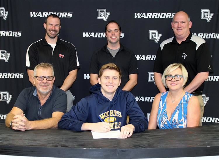 Mark Piotrowski signs with Wilkes University