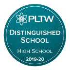 DVHS Earns PLTW Distinguished School Designation