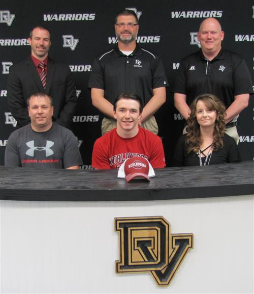 Tyler Magee signs with Muhlenberg College