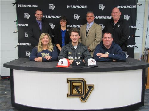 Zachary Klapak Signs with Pittsburgh University